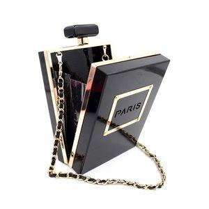 Handbags - Paris Perfume Bottle Shape clutch/evening bag